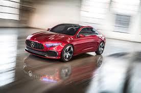 mercedes sedan concept a sedan promises a sleek future for mercedes roadshow
