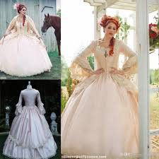 new design pink gothic wedding ball gown vintage 1920s style scoop