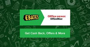 Does Office Depot Make Business Cards Office Depot And Officemax Coupons Promo Codes U0026 3 0 Cash Back