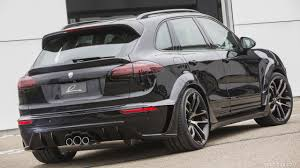 porsche cayenne black 2016 lumma design clr 558 gt r based on porsche cayenne black