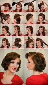 easy 1930 hair 31 simple and easy 50s hairstyles with tutorials 1950s 50s