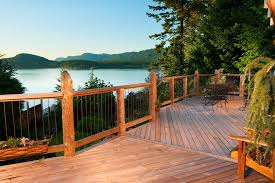 deck railing ideas porch traditional with driftwood deck flower
