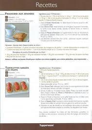 recette de cuisine tupperware recette mini tartelettes sucrées tupperware recherche