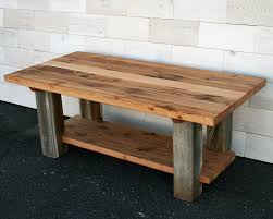 Barn Wood Coffee Table Made Reclaimed Fir And Barn Wood Coffee Table By