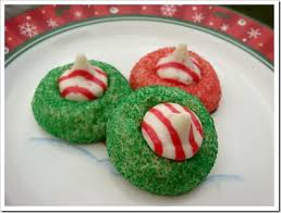 twelve days of christmas cookies candy cane kisses cookies no