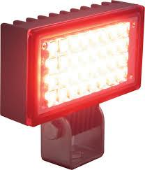 red led flood light red led utility market flood light vision x xil uf32r 9121369