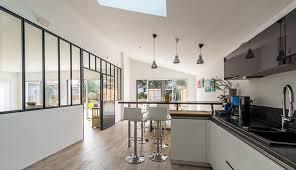 cuisines rangements bains cuisine avec verriere interieure evtod