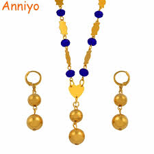color bead necklace images Anniyo beads pendant earrings and colour beads necklaces jewelry jpg