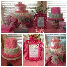 ashley cooks cakes shabby chic baby shower baby to be showers