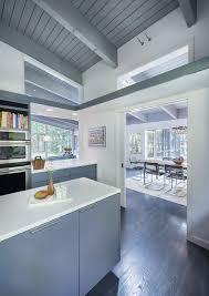 modern house kitchen inspiring mid century house remodel in lincoln massachusetts