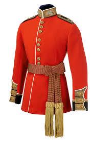 British Soldier Halloween Costume British Scots Guards Officer U0027s Scarlet Uniform U0026 Sash