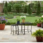Outdoor Accent Table Outdoor Side U0026 Accent Tables Walmart Com