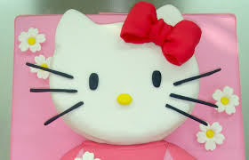 Hello Kitty Halloween Decorations by Tarta De Hello Kitty Grande How To Make This Hello Kitty Fondant