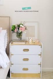 ikea hack gilded campaign nightstand