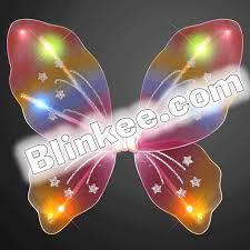 light up fairy wings light up rainbow fairy butterfly wings magic matt s brilliant blinkys