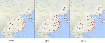 Tesla Supercharger Map Has Tesla Changed Its China Strategy Tesla Motors Nasdaq Tsla