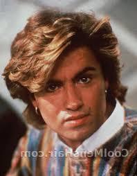 men feathered hair 80s hairstyles george michael hair styles cool mens hair