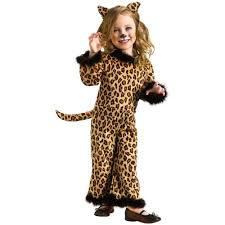 halloween costumes kitty cat amazon com child pretty leopard costume medium 8 10 toys u0026 games