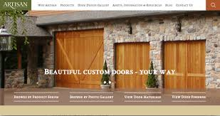 Overhead Door Manufacturing Locations Artisan Launches New Web Site Designed Especially For Homeowners