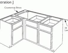 Install Kitchen Base Cabinets How To Install Kitchen Cabinets Hbe Kitchen