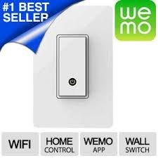 wemo wi fi smart light switch wemo wi fi light switch control your lights from anywhere with the