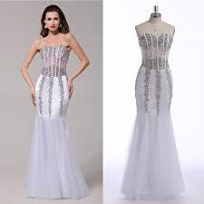 graduation gowns for sale best quality designer modest sequin prom dresses on sale satin white