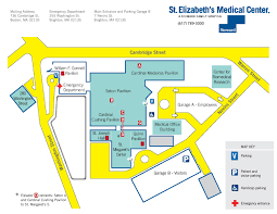 Massachusetts On Us Map by Directions U0026 Campus Map St Elizabeth U0027s Medical Center