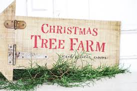 christmas tree farm arrow sign olde tyme marketplace