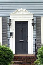 Outdoor Curtains Lowes Designs Adorable Grey Wood Front Door As Furniture And Furnishing For Home