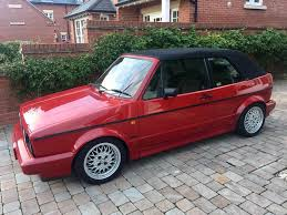 mk1 golf cabriolet clipper sportline auto in shrewsbury
