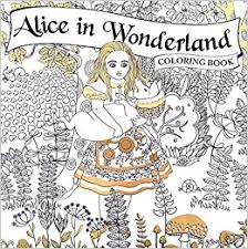 alice wonderland coloring book piccadilly editor