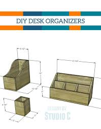 Diy Wooden Desktop by The 25 Best Wooden Desk Organizer Ideas On Pinterest Desktop