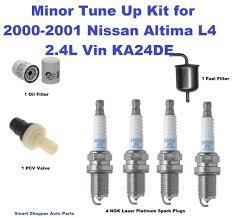 nissan altima fuel filter tune up for 2000 2001 nissan altima l4 ngk lasesr platinum spark