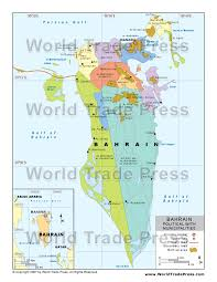 map of bahrain stockmapagency com maps of bahrain offered in poster print by