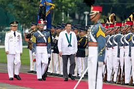 Flag Officer In Command Philippine Navy President Rodrigo Roa Duterte Graces The Afp Change Of Command