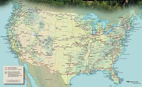 Amtrak Usa Map by Travels