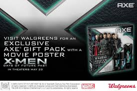 axe and x men days of future past giveaway win tix to see the