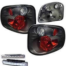 2001 ford f150 tail light assembly amazon com 2001 2003 ford f 150 f150 rear brake tail lights smoked