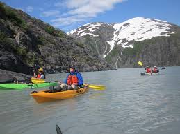 Alaska lakes images Alaska kayaking on portage lake picture of alaska outdoor gear jpg