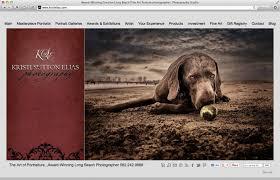 photographers websites photography website design online portfolio exles by big
