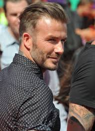 david beckham hairstyle evolution pictures