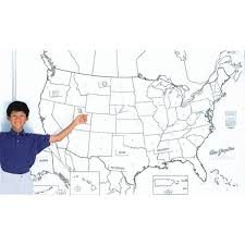 United States Learning Map by Amazon Com Pac78760 Giant Us Map 48in X 72in Wall Maps