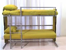 Sofa Bunk Bed Sofa Folds Out Into A Bunk Bed Business Insider
