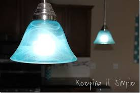 Pendant Light Shades Turquoise Pendant Lights How To Dye Light Shades Keeping It