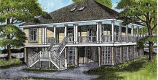 house plans with elevated front porch house plans