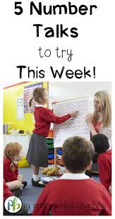 5 number talk ideas to try this week number talks maths and