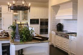Double Wall Oven Cabinet Floor White And Natural Wood Cabinets And A Large Double Wall