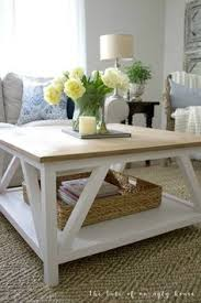 how to build a diy modern farmhouse coffee table classic square