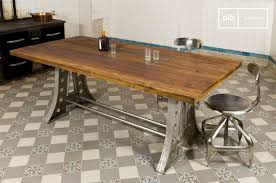 Table Repas Style Industriel by