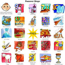 passover items 30 different bingo cards with a mix of 60 different pictures